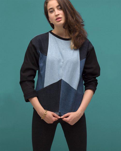 Mainseam Crystals Sweater Women