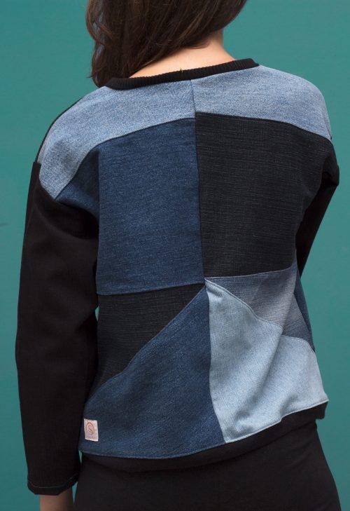 Mainseam Crystals Sweater Women back